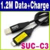 1.2M Sansung SUC-C3 i100 ES55 C63USB Data+Charger Cable