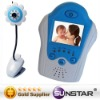 1.5 Inch LCD 2.4GHz Wireless Baby Monitor with Night Vision AV OUT