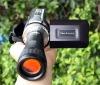 12MP digital camcorder with 8X digital zoom