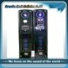 2.0 active led home karaoke speaker audio systems