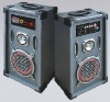2.0 professional active speaker system with USB,FM Radio and MIC
