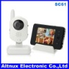 2.4G 3.5' color LCD monitor Video Digital Wireless Baby monitor System