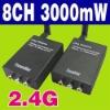 2.4G 8 CH Wireless AV Transmitter & Receiver Kit 3000mW