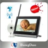 "2.4GHz 7"" Wireless Color LCD Baby Monitor with Night Vision Camera"