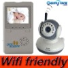 2.4GHz Wireless Digital Baby Monitor Wifi-friendly Baby Care