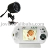 2.4GHz infrared Baby Monitor with 1.8inch lcd monitor and 2GB sd card