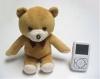 2.4Ghz 2.5 Inch bear shape Baby Monitor