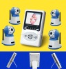 2.4Ghz 4Channel  Wireless Digital Baby monitor
