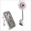 2.4Ghz Wireless flower shape Baby Monitor with 2.5 inch tft lcd monitor