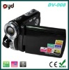 2.8 inch digital video camera with LCD display and 12M pixel