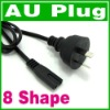 2 Prong AU AC Power cord Cable