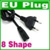 2 Prong EU AC Power cord Cable