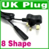 2 Prong UK AC Power cord Cable