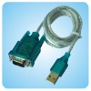 3' USB 2.0 to RS232 Serial DB9 9-Pin Adapter Cord Cable