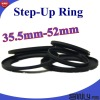 35.5mm-52 Step up Ring Adapter