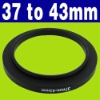 37-43mm Step Up Filter Ring