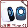 3W mini desktop speaker