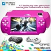 "4.3"" HD panel Double play Video Game console"