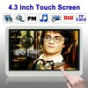 4.3 inch TFT screen 8GB MP5 Player with Metal cover