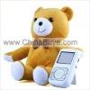 "4 Channel 2.4G Wireless Baby Monitor 2.5"" TFT-LCD Screen Built in Speaker"