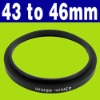 43-46mm Step Up Filter Ring