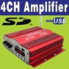4CH SD Car Power Amplifier