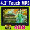 "4GB 4.3"" Touch MP3 MP4 MP5 Player MP-21"