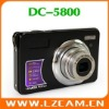 5.0MP CMOS 4xDigital zoom 3xOptical zoom 2.7 Inches Shake function support 32GB SD card digital camera DC-5800
