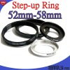 52-58 Step up Ring Adapter