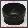 52mm 0.45X Wide angle Lens with Macro(Filter Diameter 62mm)