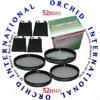 52mm Macro Lens kit For All Canon 52mm Lenses