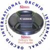 52mm for Canon Lens Cap Center Pinch