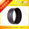52mm lens hood of metal