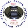 55mm for Nikon Lens Cap Center Pinch