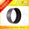 55mm round lens hood