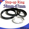 58-67 Step up Ring Adapter