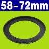 58-72mm Step Up Filter Ring