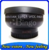 58mm 0.45x Wide Angle Lens for Canon 400D 450D 1000D
