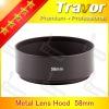 58mm camera lens hood
