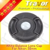 58mm digital camera rubber lens cap for nikon