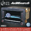 """6.5"""" HD TFT digital  touch screen car dvd gps 2 din for VW with BT,DVB-T,RADIO,RDS,IPONE,TMC"""