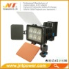 6 LED Light 5010A camera video light have battery F550/F750/F970 have charger
