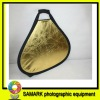 60 centimeters gold and silver reflector laptop