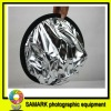 60 centimeters silvery white portable reflector