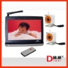 7 inch LCD wireless baby monitor with 2 cameras