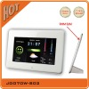 7 inch Weather Station White Latest Digital Photo Frame Full Function