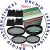 72mm Close Up Lens kit Nikon For All 72mm (Set Of Four Lenses)