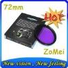 72mm FLD filter camera filter