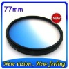 77mm Graduated blue lens filter for Canon Nikon