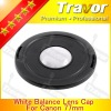 77mm digital camera lens cap for canon